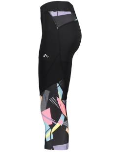 onpdelphine 3/4 training tights 15170270 only play sport broek black/w. hydra aop