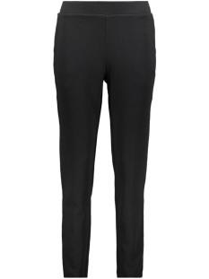 Pieces Broek PCCHRISTINA MW ANKLE PANTS CAMP 17096589 Black