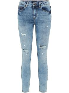 pcfive dnm mw cr des jns lb103 vi 17092962 pieces jeans light blue denim