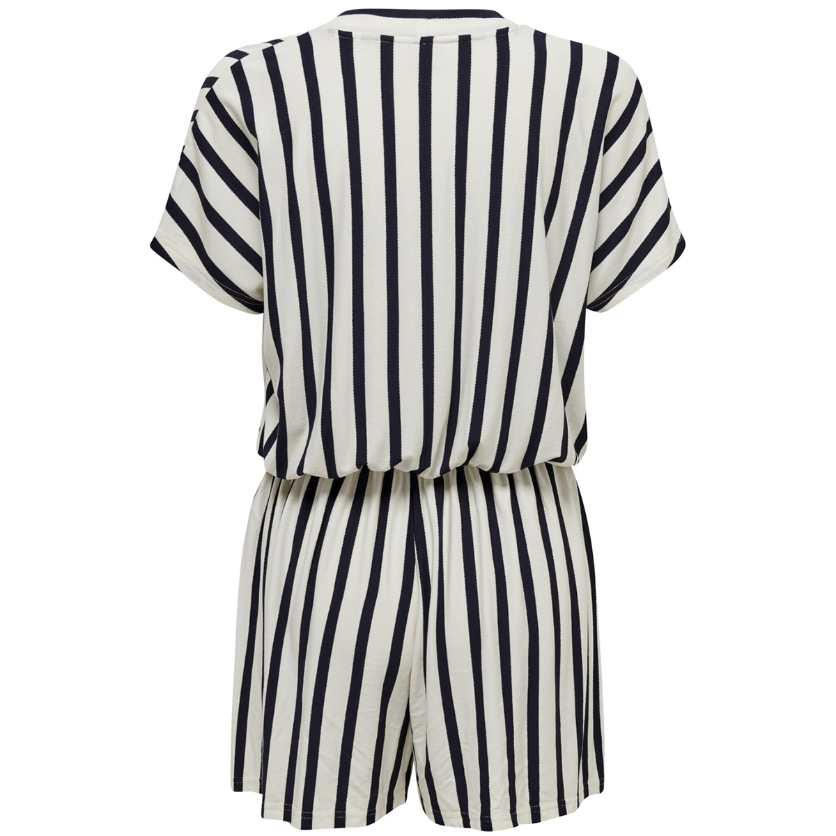 jdyalina s/s playsuit jrs 15183750 jacqueline de yong jumpsuit cloud dancer/navy blazer