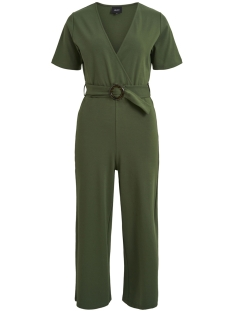 Object Jumpsuit OBJFOLKE S/S JUMPSUIT A SP 23030663 Black Forest