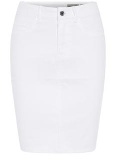 vmhot nine hw dnm pencil skirt noos 10193076 vero moda rok bright white