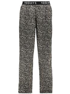 wide leg pants confetti 20 018 9102 10 days broek black