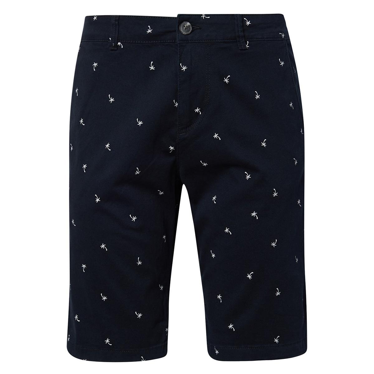 short met palmboommotief 1010342xx12 tom tailor korte broek 17200