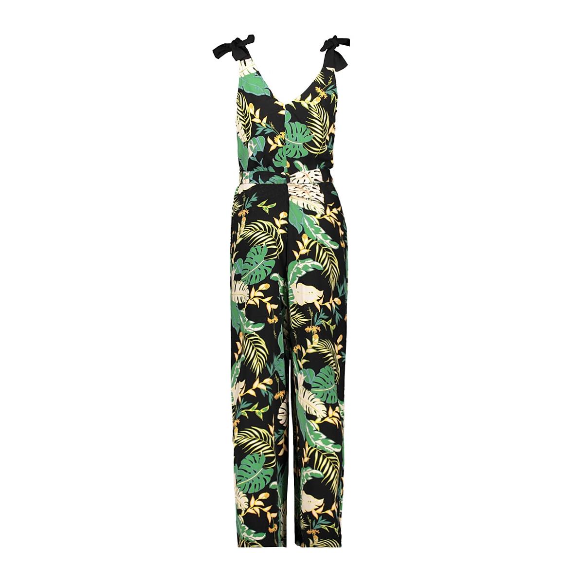 onllima tie strap jumpsuit 15176471 only jumpsuit black/disco jungle