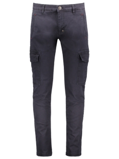 Haze & Finn Broek PANTS CARGO MU10 0510 NAVY