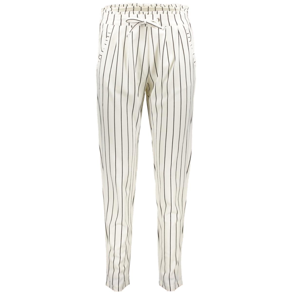 jdycatia treats aop pant jrs 15174869 jacqueline de yong broek cloud dancer/stripes