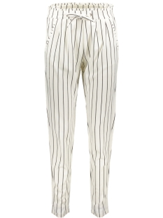 Jacqueline de Yong Broek JDYCATIA TREATS AOP PANT JRS 15174869 Cloud Dancer/STRIPES