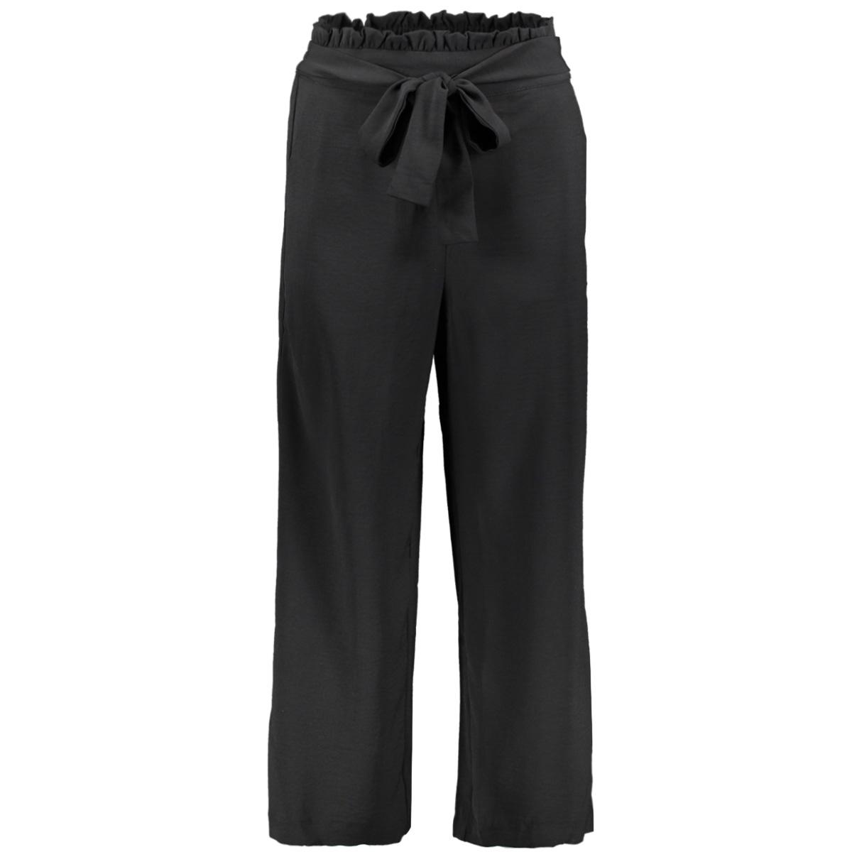 virasha hw cropped wide pant pb/ki 14052027 vila broek black