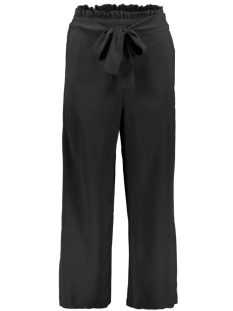 Vila Broek VIRASHA HW CROPPED WIDE PANT PB/KI 14052027 Black