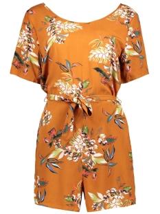 onlleah ss playsuit wvn 15179661 only jumpsuit sugar almond/la flower