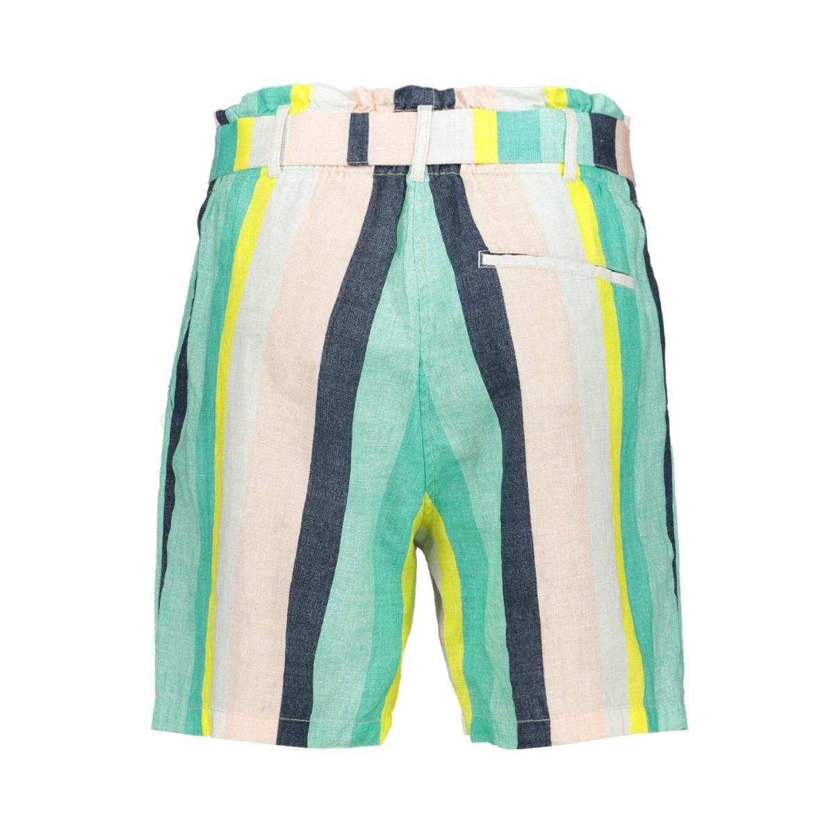 gestreepte paper bag short 24001501 sandwich korte broek 50056