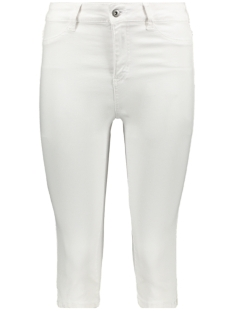 Saint Tropez Jeans WOVEN PANTS CAPRI T5759 1000 WHITE