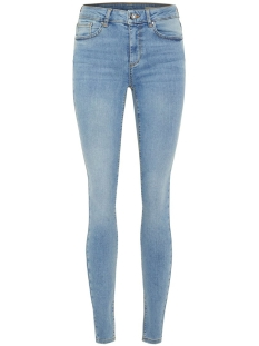 Vero Moda Jeans VMLUX MR SUPER SLIM JEANS BA365 NOOS 10209616 Light Blue Denim