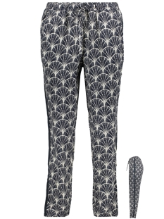 Garcia Broek BROEK MET ALL OVER PRINT GE900503 292 Dark Moon