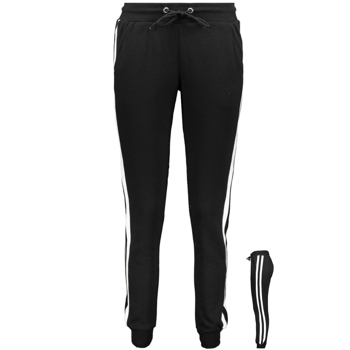 tb2453 urban classics broek black/white/black