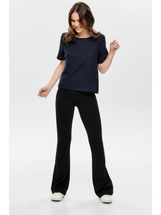 onlpaige flared pant pnt 15176099 only broek black