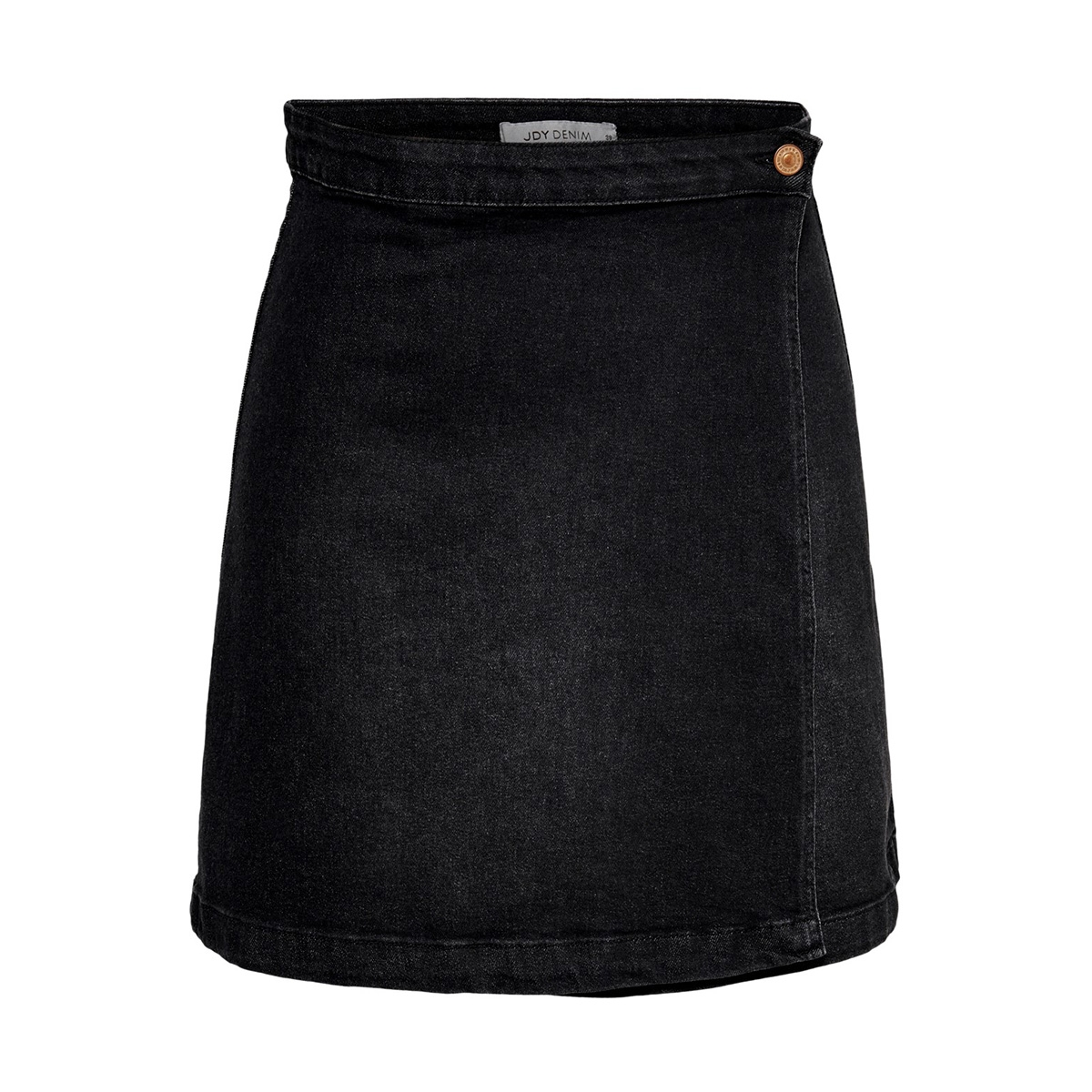 jdyally wrap skirt dnm 15179993 jacqueline de yong rok black denim