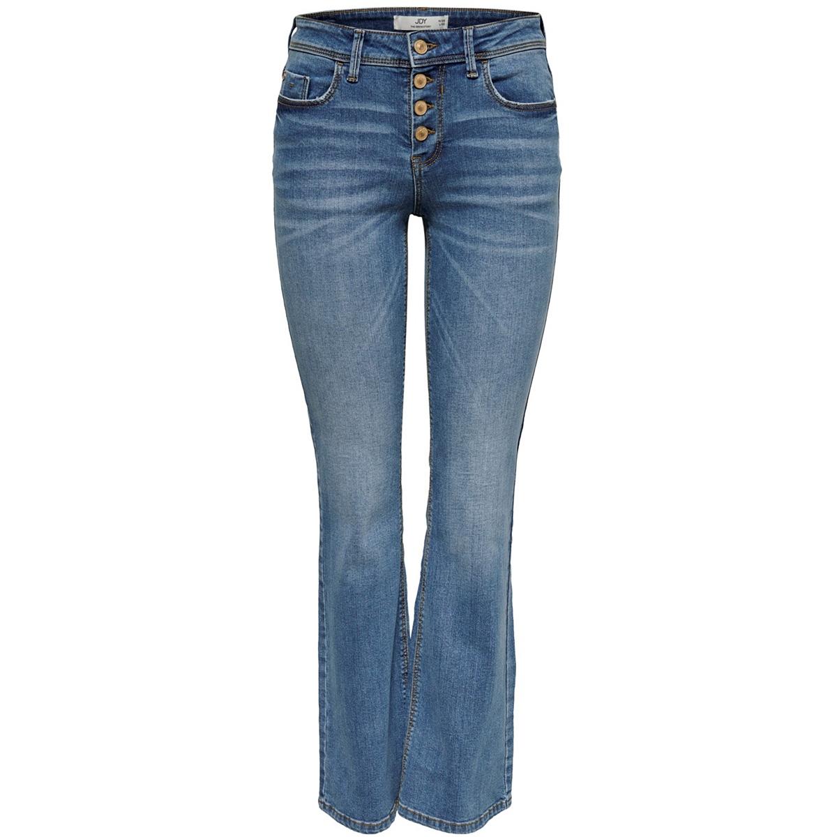 jdyjona flare reg but fly lb dnm 15182661 jacqueline de yong jeans light blue denim