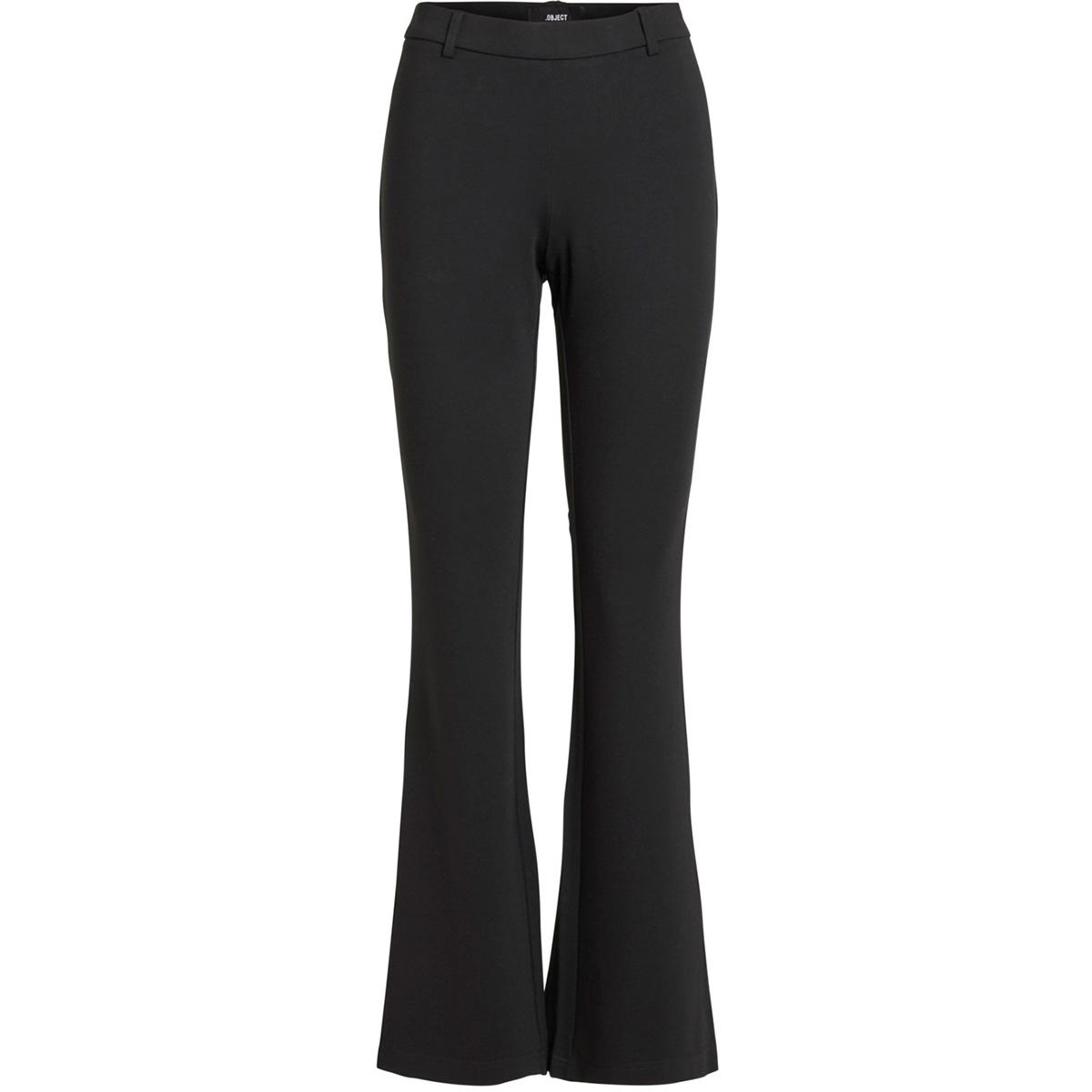objnicky long flared pant 106 23031691 object broek black