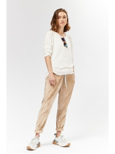 cropped jogger velve 20 007 9103 10 days broek champagne