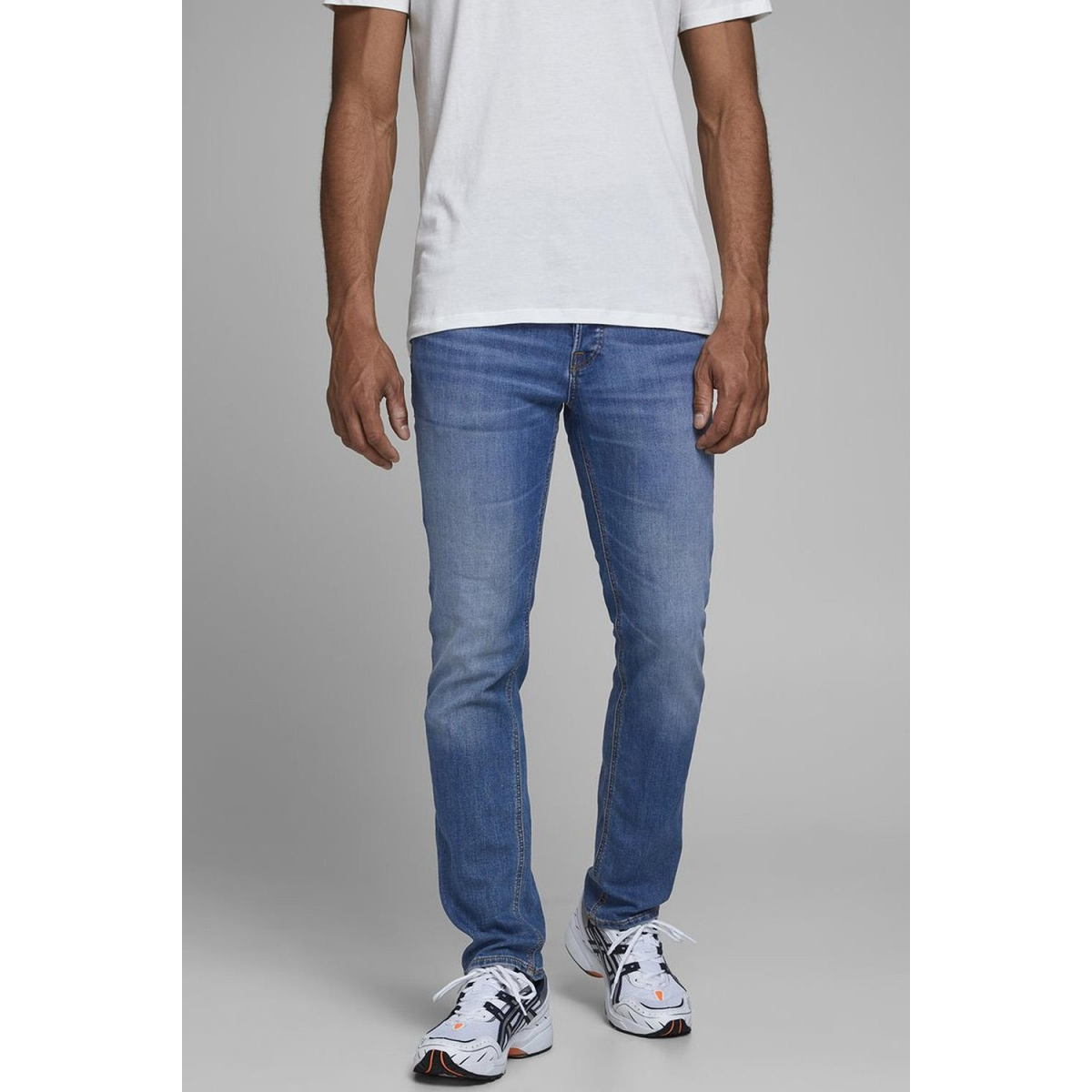 jjiglenn jjoriginal am 815 noos 12157416 jack & jones jeans blue denim