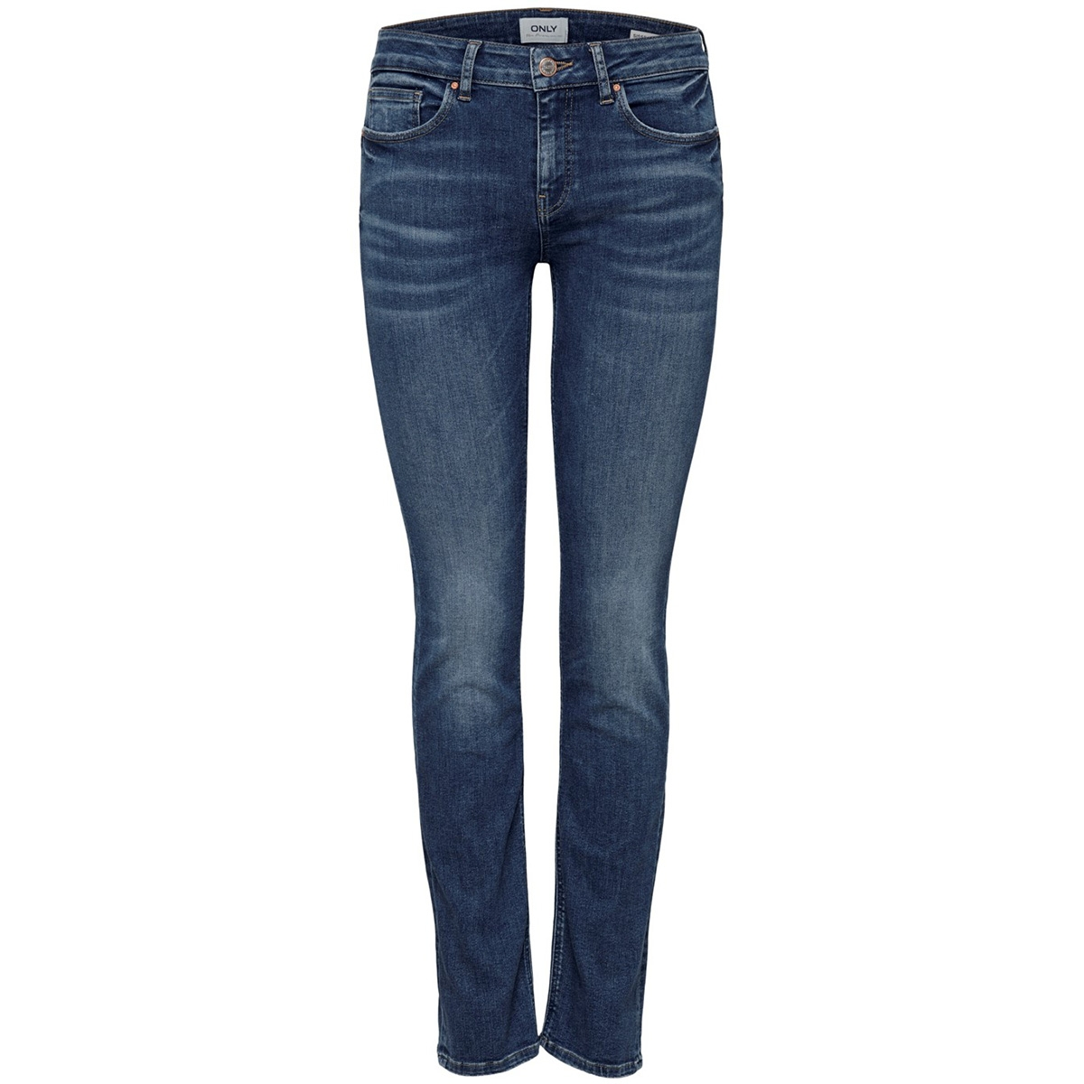 onlfeva reg slim bb soo732ab noos 15185324 only jeans medium blue denim