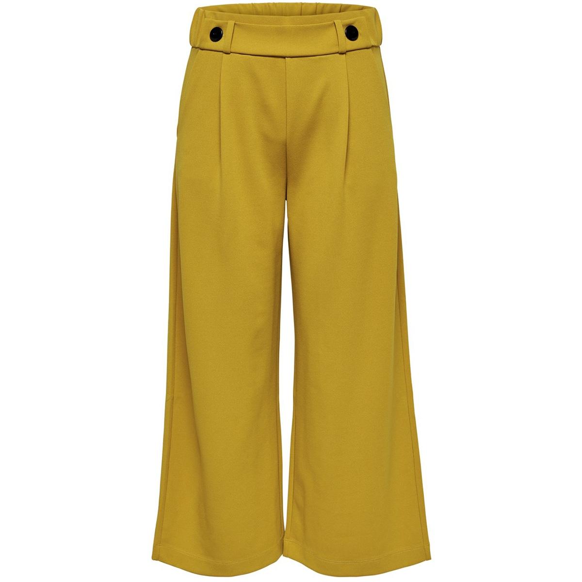 jdygeggo ancle pant jrs noos 15171849 jacqueline de yong broek harvest gold/w. black bu
