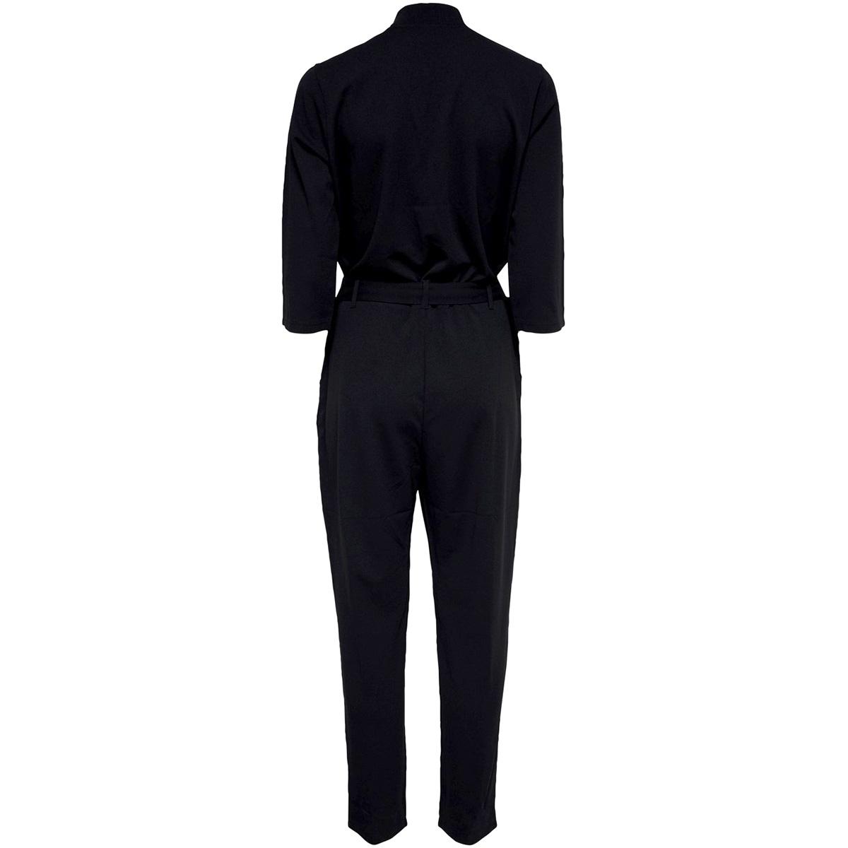 jdygeggo treats  3/4 jumpsuit jrs n 15180577 jacqueline de yong jumpsuit black