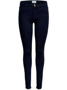 Only Jeans ONLRAIN REG SKINNY JEANS BB CRYA011 15182558 Dark Blue Denim