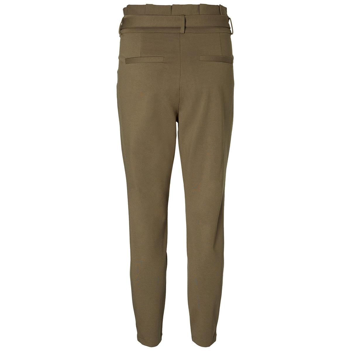 vmeva hr loose paperbag pant noos k 10205932 vero moda broek ivy green