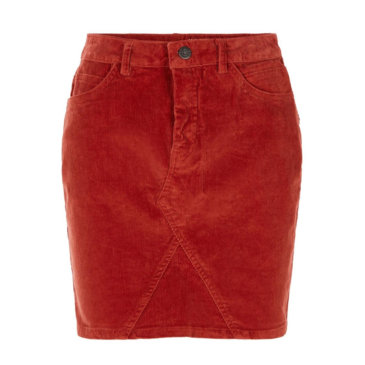 nmayla nw corduroy skirt clr 27009977 noisy may rok tandori spice