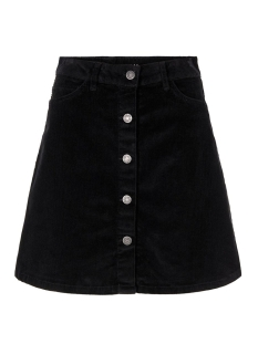 nmsunny short corduroy skirt noos 27008506 noisy may rok black