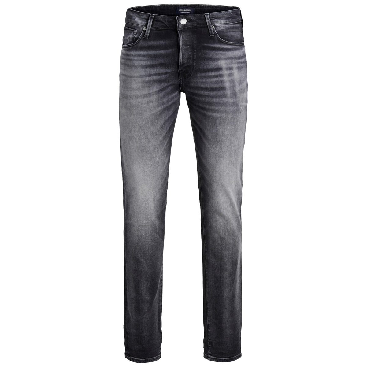 jjitim jjicon jj 171 noos 12159163 jack & jones jeans black denim