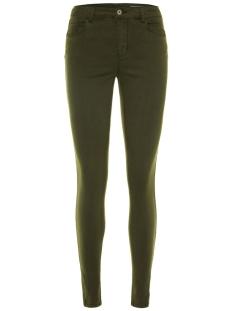 Vero Moda Jeans VMSEVEN SHAPE MR S ANK ZIP JEANS NO 10202102 Peat
