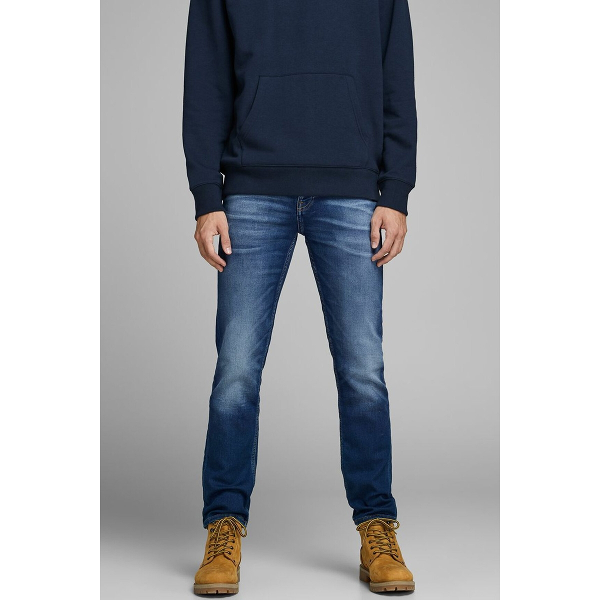 jjitim jjleon ge 227 i.k. noos 12159129 jack & jones jeans blue denim