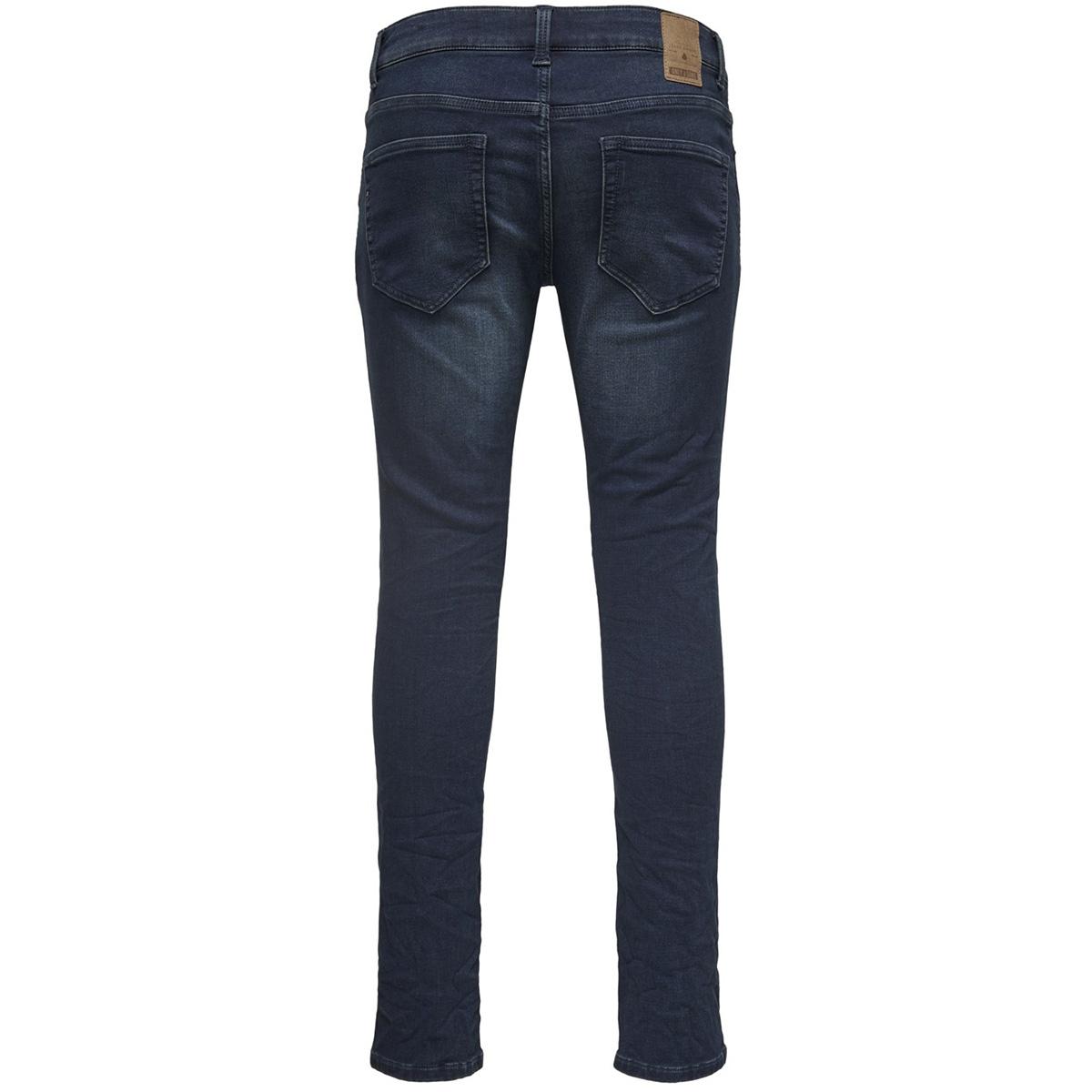 onsloom dark blue sweat pk 3631 noo 22013631 only & sons jeans blue denim