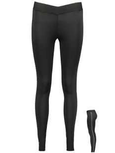 Only Play Sport broek ONPAIDA ATHL TIGHTS 15175699 Black/W. WHITE