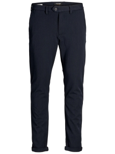 Jack & Jones Broek JJIMARCO JJCONNOR AKM 769 NAVY PIN NOOS 12159956 Dark Navy