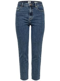 onlemily hw st raw crp ank mae 0005 15171549 only jeans dark blue denim