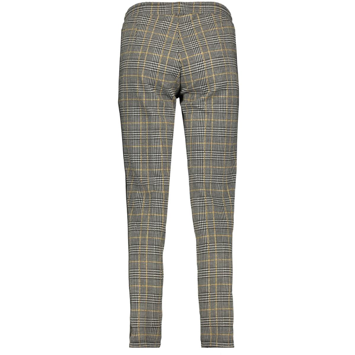 broek met pied de poule print 1013265xx70 tom tailor broek 19092