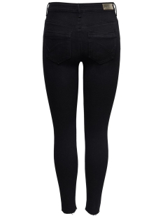 onlpaola hw sk dnm jeans azg 132907 15167410 only jeans black denim