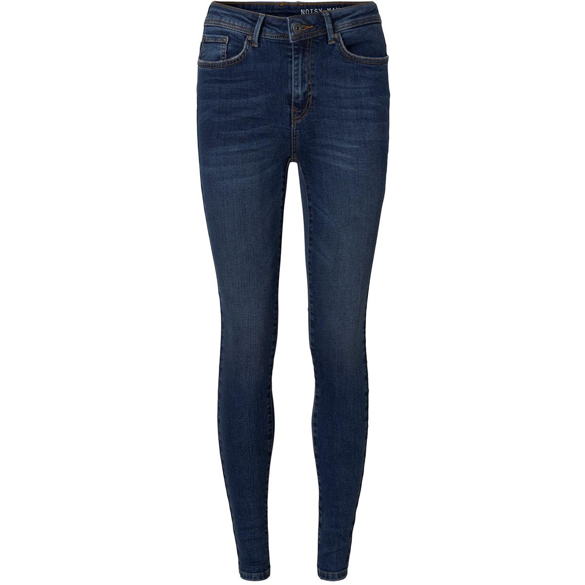 nmvicky nw skinny jeans ba054 db noos 27008741 noisy may jeans dark blue denim