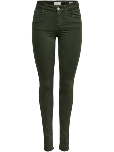 ONLBLUSH MID SK COL JEANS NOOS 15185418 Forest Night