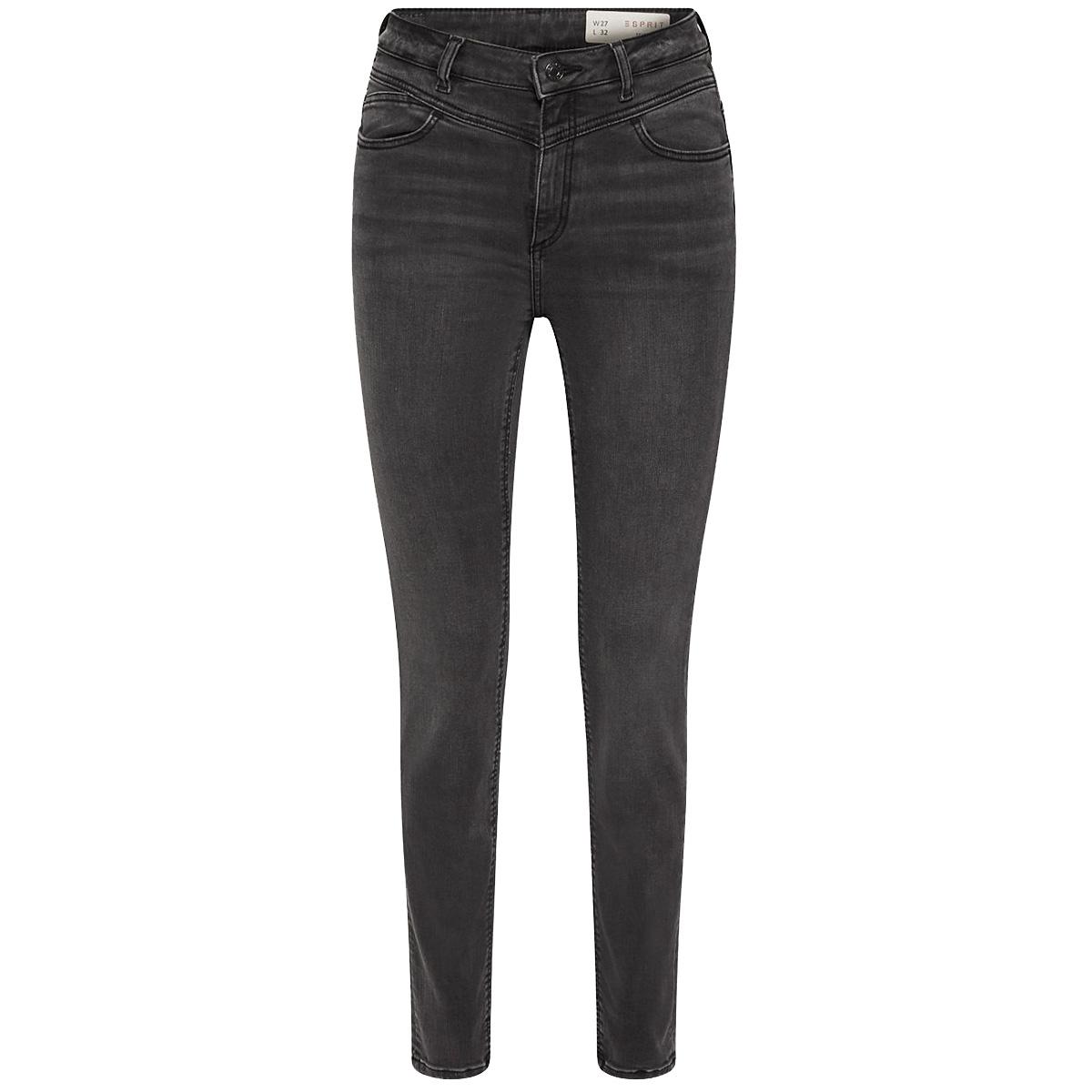jeans met superstretch en hoge band 089ee1b011 esprit jeans e921