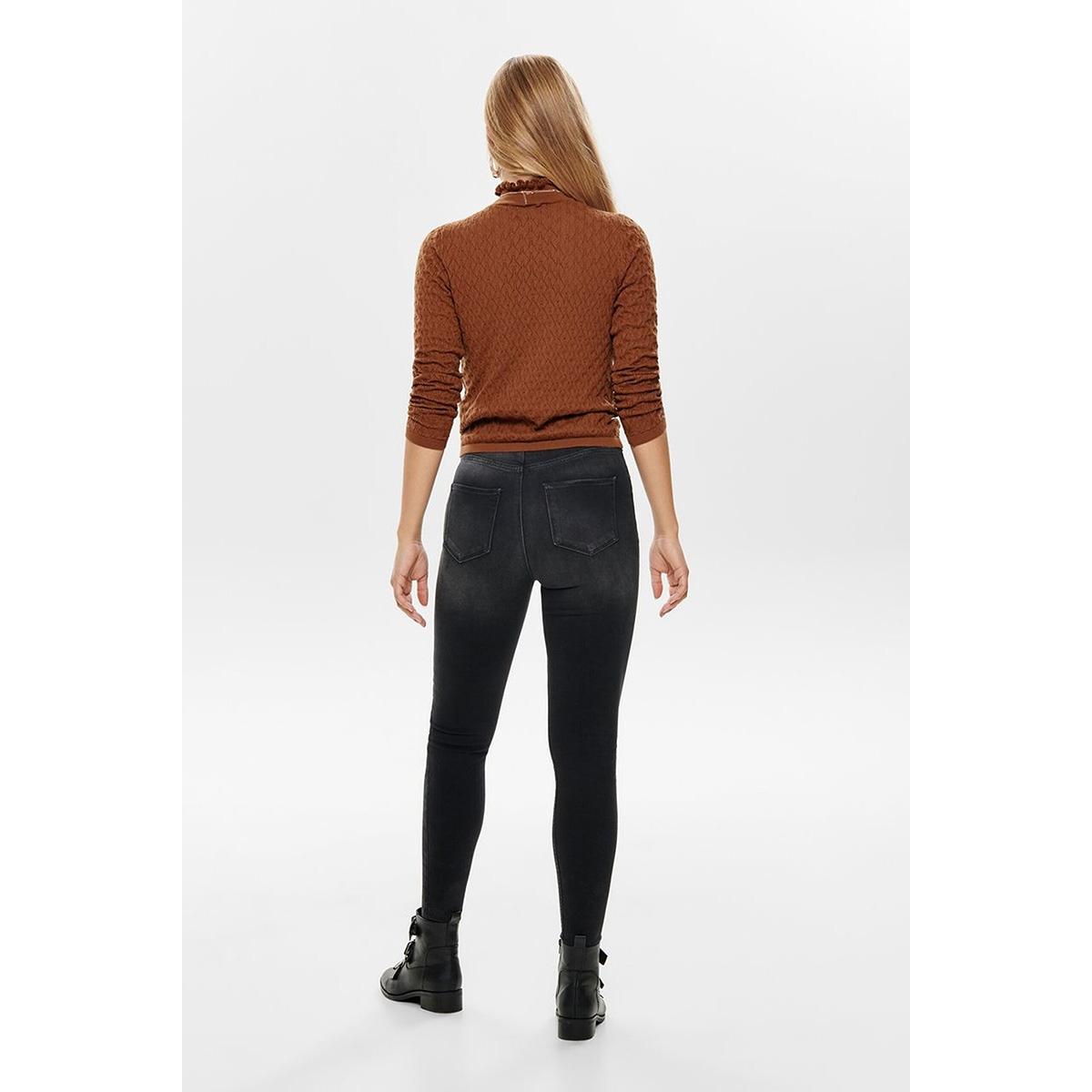 onlgosh hw sk ank bb rea10135 noos 15181939 only jeans black denim