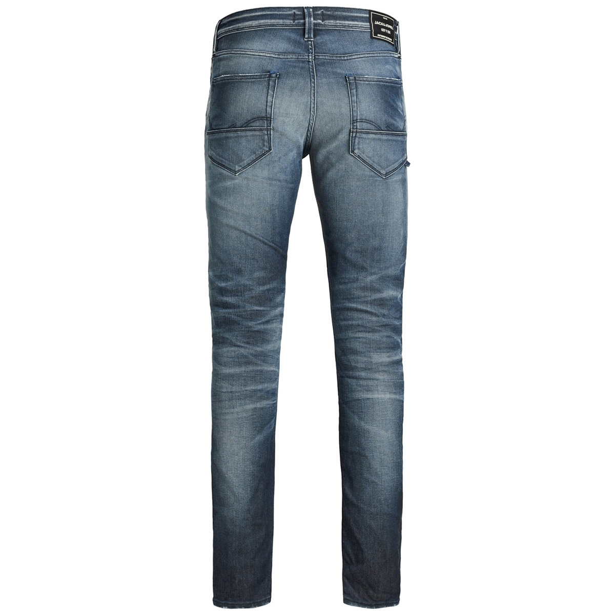 jjiglenn jjfox bl 881 noos 12159182 jack & jones jeans blue denim
