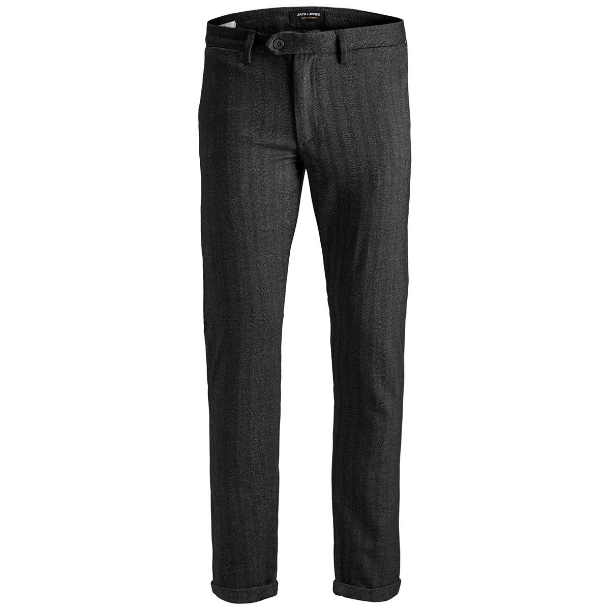 jjimarco jjconnor akm 769 herring noos 12159959 jack & jones broek dark grey