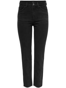 onlemily  hw st raw crp ank mae004 15171545 only jeans black denim