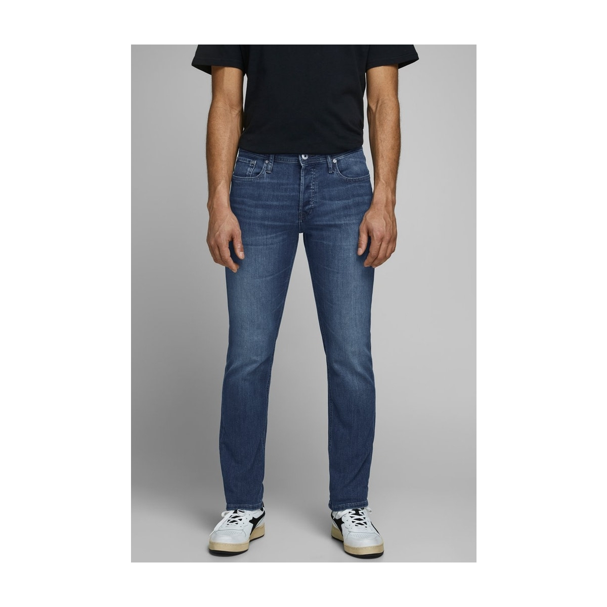 jjiglenn jjoriginal am 814 noos 12152347 jack & jones jeans blue denim
